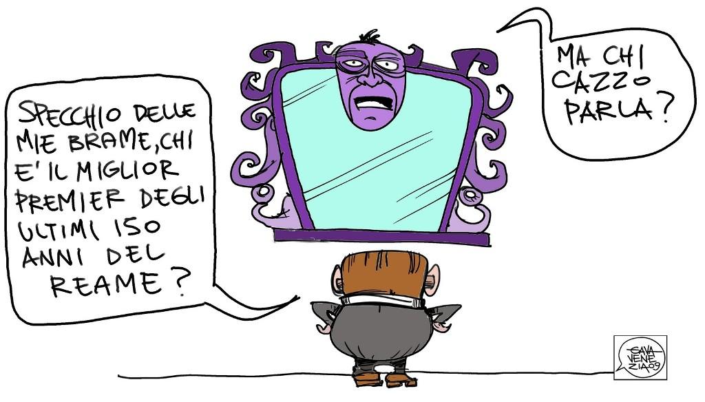 2009 - Cane allo specchio ...